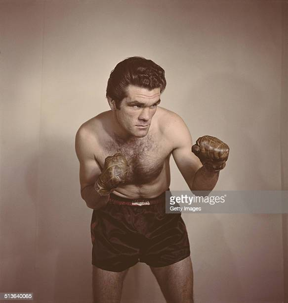 Freddie Mills of Great Britain and the world light heavyweight champion on 1st June 1948 in London Great Britain