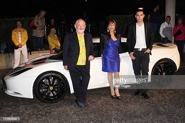 Freddie Muercury's Nephew Jamal Zook and sister Kashmira Bulsara attend the Freddie For A Day 65th birthday anniversary at The Savoy Hotel on...