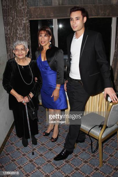 Freddie Muercury's Nephew Jamal Zook, sister Kashmira Bulsara and his mother Jer Bulsara attend the Freddie For A Day 65th birthday anniversary at...