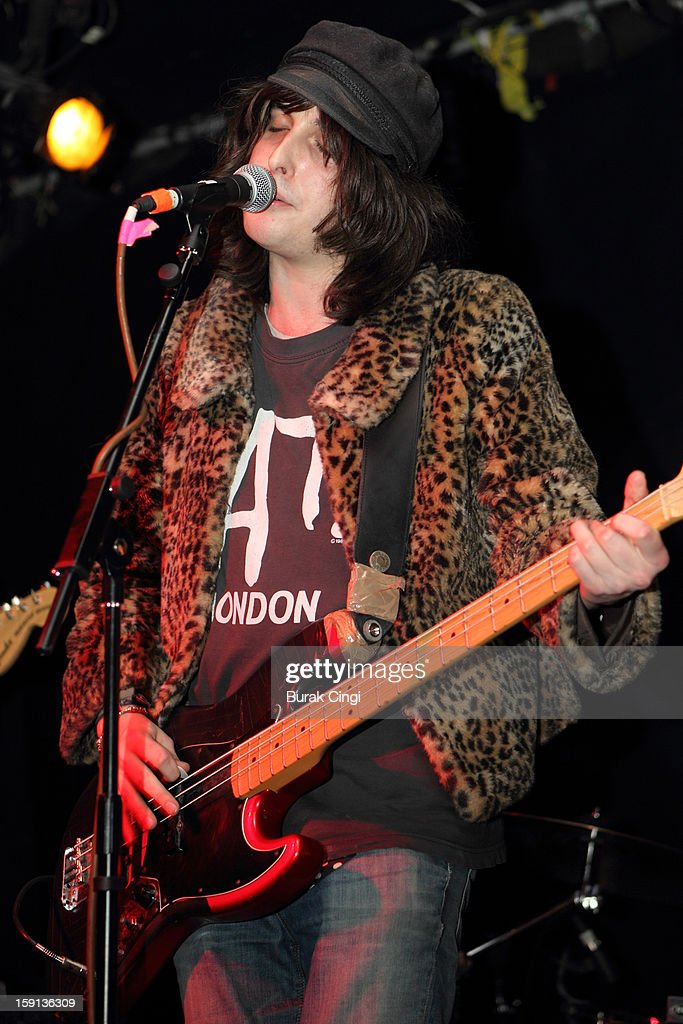 Freddie Murray of Fractures performs on stage on day one of Artrocker Magazine's New Blood Festival at Hoxton Square Bar And Kitchen on January 8, 2013 in London, England.