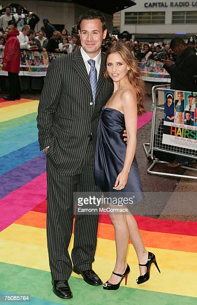 Freddie Prinze Jnr and Sarah Michelle Gellar during arrival of the UK premiere of 'Hairspray' July 05 2007 in London England