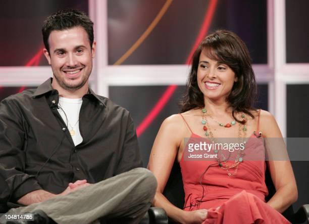 Freddie Prinze Jr and Jacqueline Obradors of Freddie