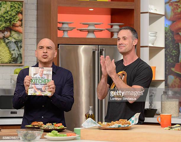 THE CHEW 6/7/16 Freddie Prinze Jr appears on THE CHEW airing MONDAY FRIDAY on the ABC Television Network