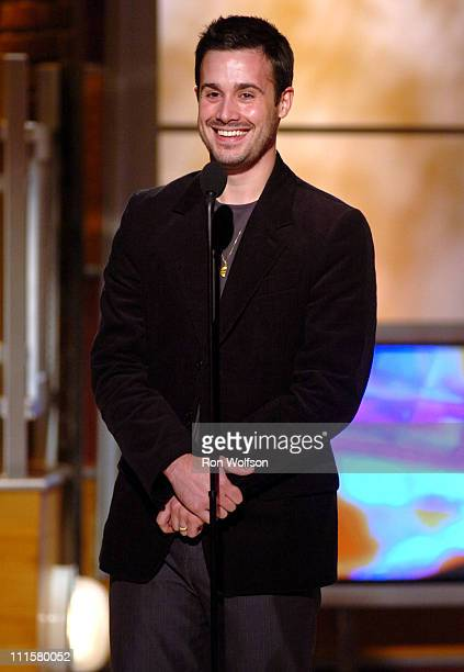 Freddie Prinze Jr during 7th Annual Family Television Awards Show at Beverly Hilton Hotel in Beverly Hills California United States