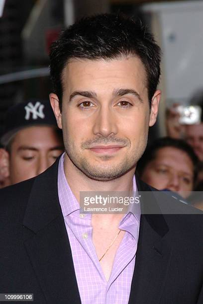 Freddie Prinze Jr during Freddie Prinze Jr Appears Outside The Late Show with David Letterman October 3 2005 at Ed Sullivan Theater in New York City...