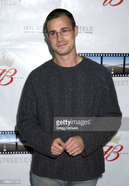 Freddie Prinze Jr during Kevin Spacey's TriggerStreetcom Launches New Content Showcase at Las Vegas Convention Center in Las Vegas Nevada United...