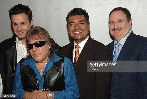 Freddie Prinze Jr Jose Feliciano George Lopez and Gabe Kaplan