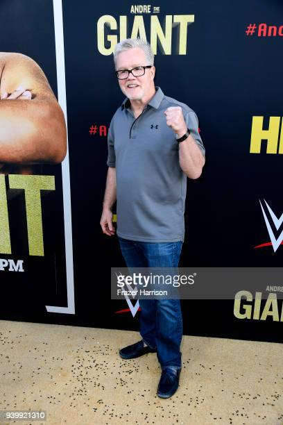 Freddie Roach attends the Premiere Of HBO's 'Andre The Giant' at The Cinerama Dome on March 29 2018 in Los Angeles California