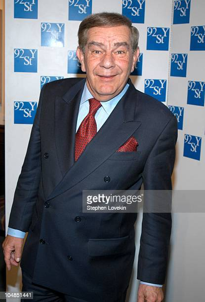 Freddie Roman during Comedy Tonight A Night of Comedy to Benefit the 92nd Street Y at The 92nd Street Y in New York City NY United States