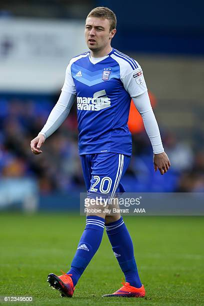 Freddie Sears of Ipswich Town during the Sky Bet Championship match between Ipswich Town and Huddersfield Town at Portman Road on October 1 2016 in...