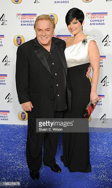 Freddie Starr and Sophie Lea attend the British Comedy Awards at Fountain Studios on December 16 2011 in London England