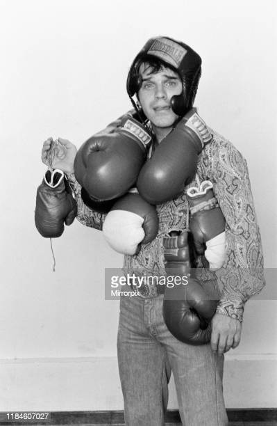 Freddie Starr Comedian pictured with boxing gloves January 1981 Freddie recently appeared on TV Show Parkinson alongside Muhammad Ali which aires...