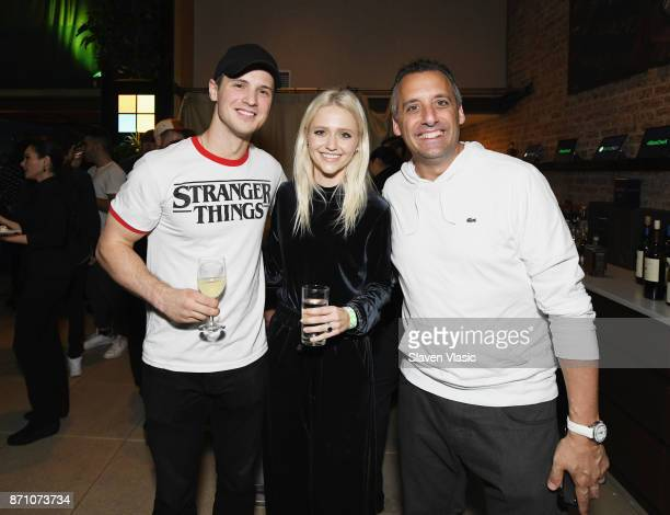 Freddie Stroma Johanna Braddy and Joe Gatto attend as Liam Payne Chloe Grace Moretz Brooklyn Beckham and Caleb McLaughlin Host Xbox One x VIP Event...