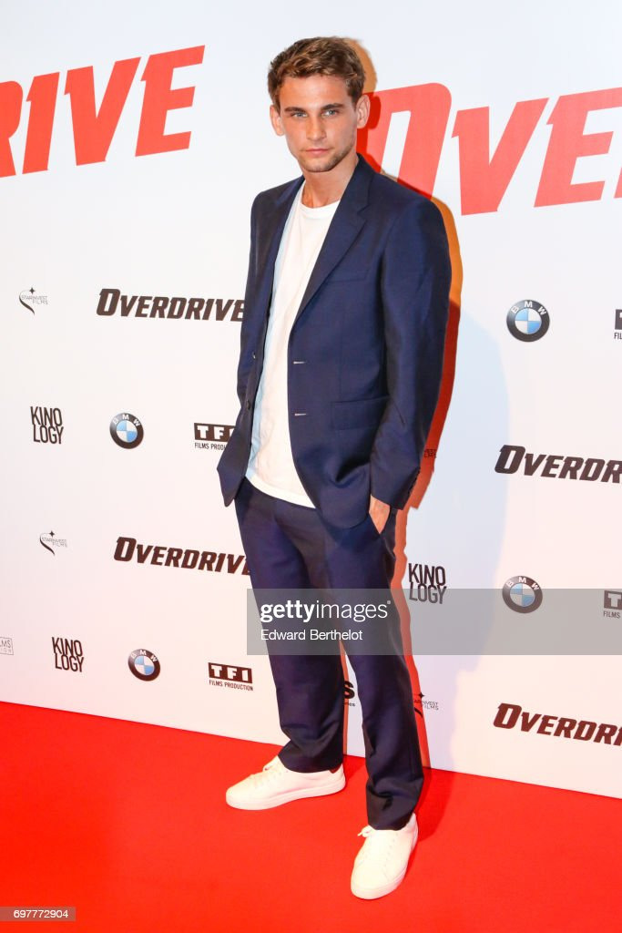 Freddie Thorp, during the 'Overdrive' Paris Premiere photocall at Cinema Gaumont Capucine on June 19, 2017 in Paris, France.