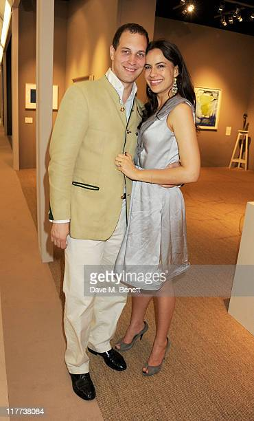 Freddie Windsor and Sophie Winkleman attend the Masterpiece Midsummer Party in aid of Clic Sargent at The Royal Hospital Chelsea on June 30 2011 in...