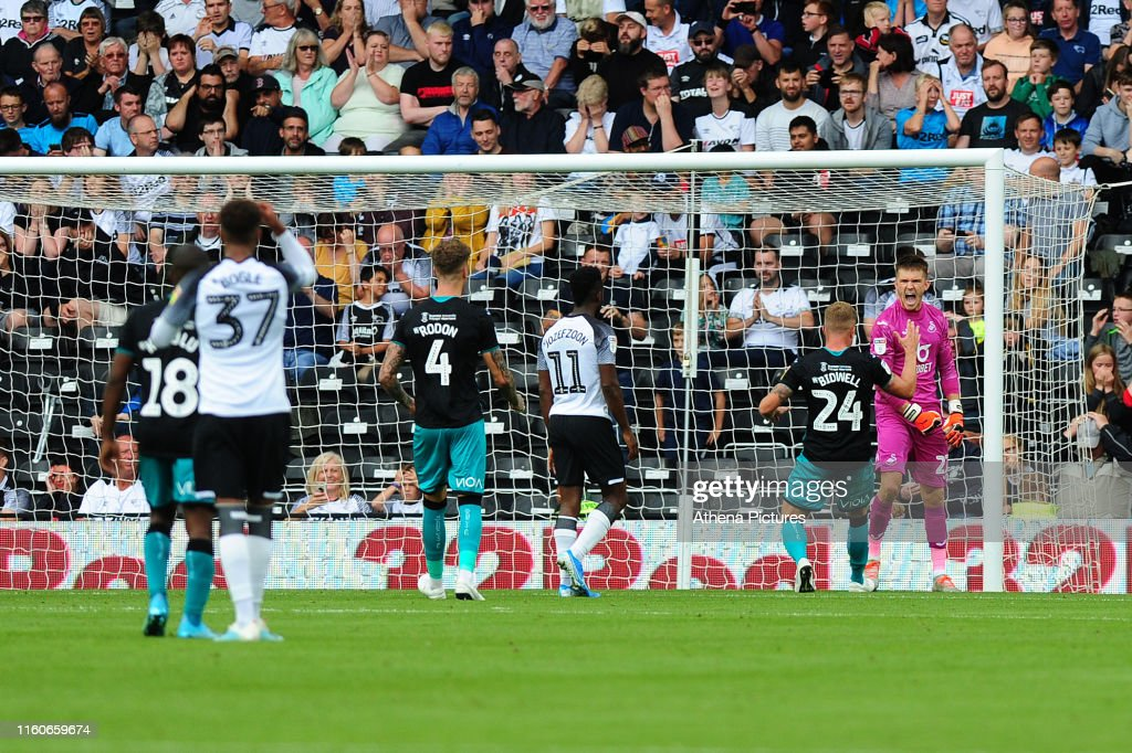 Derby County v Swansea City - Sky Bet Championship : News Photo