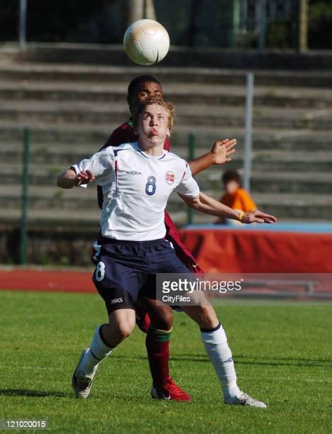 Freddrik Gulsvik during 13th Lisbon International U18 Tournament Portugal vs Norway at Lisbon in Lisbon Portugal