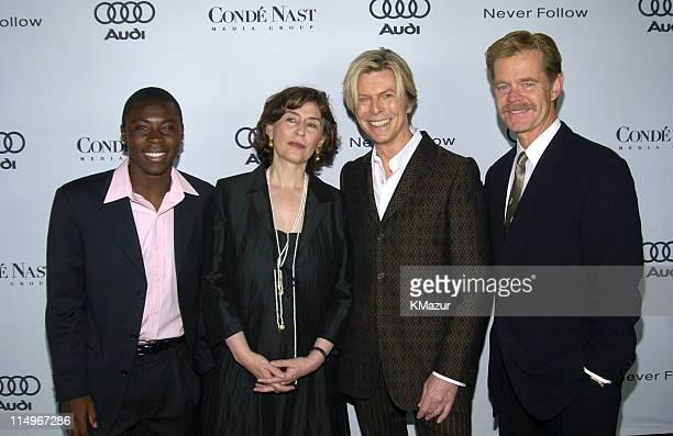 Freddy Adu, Azar Nafisi, David Bowie and William H. Macy