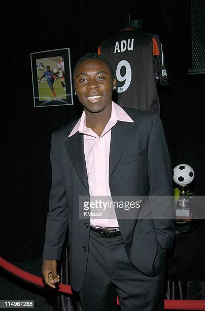 Freddy Adu during 2nd Annual Audi and Conde Nast Never Follow Campaign Honoring the Careers of Four Innovators at The Manhattan Center in New York...