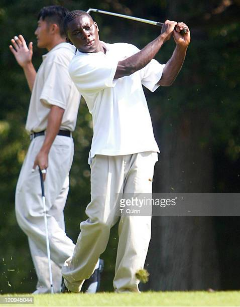 Freddy Adu during DC United for DC Charity Golf Tournament - September 13, 2004 at Reston National Course in Reston, Virginia, United States.