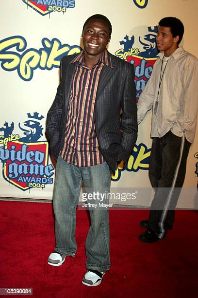 Freddy Adu during Spike TV Video Game Awards 2004 - Arrivals at Barker Hangar in Santa Monica, California, United States.
