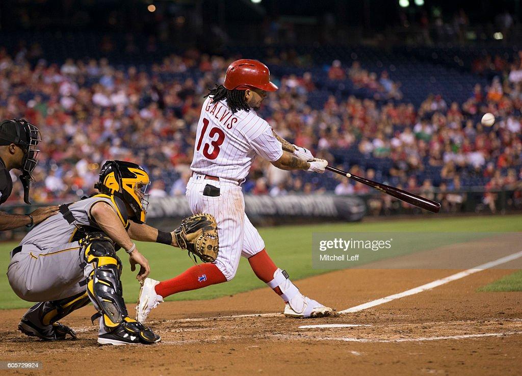 Pittsburgh Pirates v Philadelphia Phillies : News Photo
