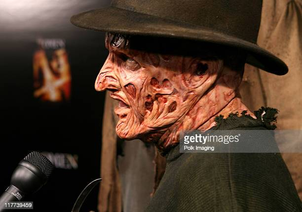 'Freddy Krueger' during 'The Omen' DVD Release Party October 12 2006 in Los Angeles California United States