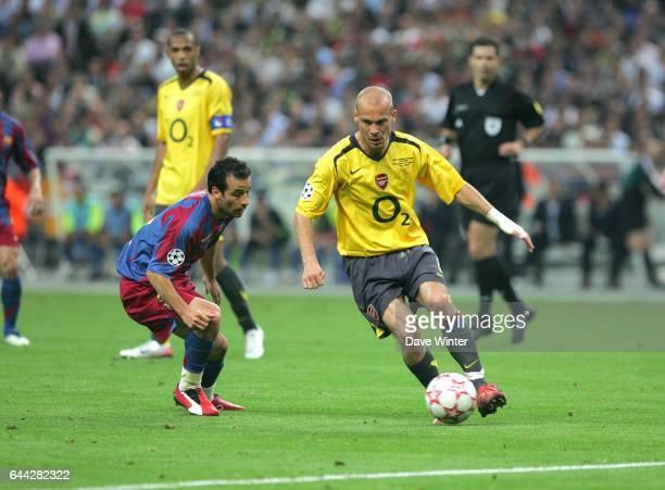 Freddy LJUNGBERG Barcelone / Arsenal Finale Champions League Stade de France Photo Dave Winter / Icon Sport