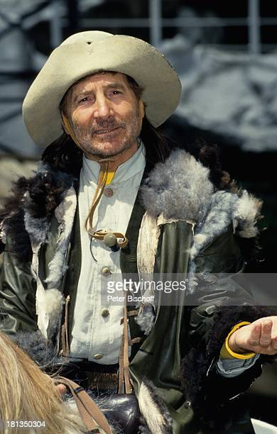 """Freddy Quinn , """"Karl-May- Festspiele"""", """"Der ; lprinz"""", Bad Segeberg, Deutschland, Europa, , Cowboy, Wild-West, Kostüm, Hut """"Stetson"""", Wilder Westen,..."""
