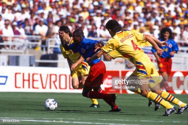 Freddy Rincon Roumanie / Colombie Coupe du Monde 1994 Photo Alain Gadoffre / Icon Sport