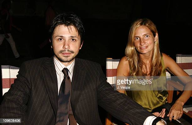 """Freddy Rodriguez and Holly Wiersma during The 63rd International Venice Film Festival - Missoni Hosts Dinner for the Premiere of """"Bobby"""" at The..."""