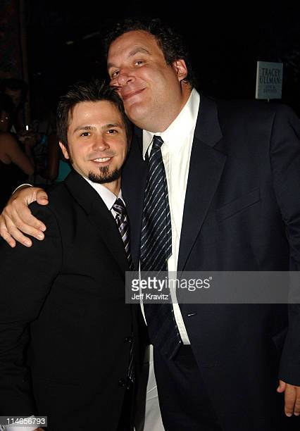 Freddy Rodriguez and Jeff Garlin during 57th Annual Primetime Emmy Awards HBO After Party at Pacific Design Center in West Hollywood California...