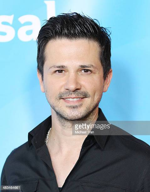 Freddy Rodriguez arrives at the NBCUniversal's 2014 Summer Press Day held at Langham Hotel on April 8 2014 in Pasadena California