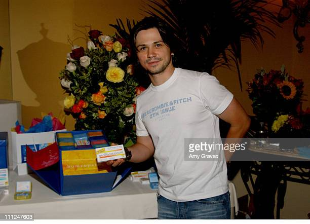 Freddy Rodriguez at Boiron during HBO 'Luxury Lounge' at the 55th Annual Emmy Awards at The Peninsula Hotel Magnolia Room in Beverly Hills California...
