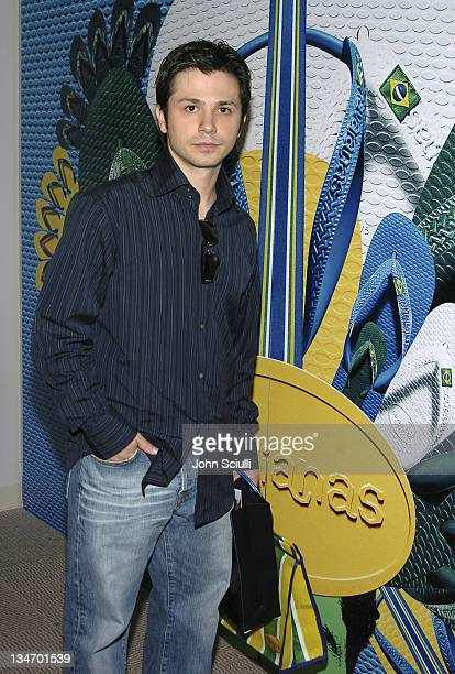 Freddy Rodriguez at Havaianas during Red Carpet '05 Oscar Suite Day Four at Pacific Design Center in West Hollywood California United States