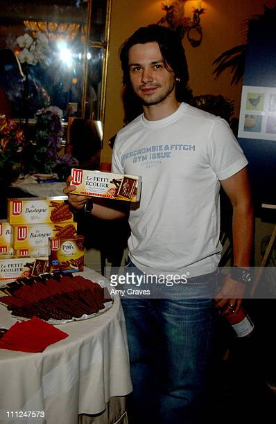 Freddy Rodriguez at Lu Biscuits during HBO Luxury Lounge at the 55th Annual Emmy Awards at The Peninsula Hotel Magnolia Room in Beverly Hills...