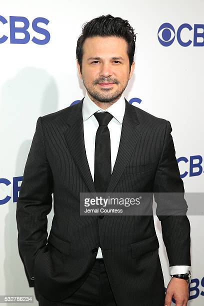 Freddy Rodriguez attends the 2016 CBS Upfront at The Plaza on May 18 2016 in New York City