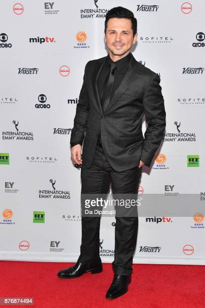Freddy Rodriguez attends the 45th International Emmy Awards at New York Hilton on November 20 2017 in New York City