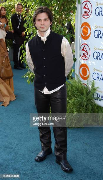 Freddy Rodriguez during 3rd Annual Latin GRAMMY Awards Arrivals at Kodak Theatre in Hollywood California United States