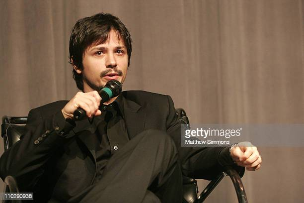 Freddy Rodriguez during Film Independent 'Bobby' Screening at Pacific Design Center in West Hollywood CA United States