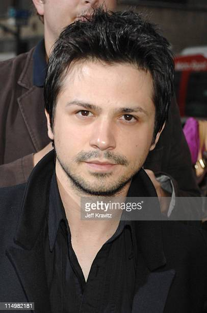 Freddy Rodriguez during Grindhouse Los Angeles Premiere Red Carpet at Orpheum Theatre in Los Angeles California United States