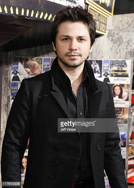 Freddy Rodriguez during Grindhouse Los Angeles Premiere Red Carpet at Orpheum Theater in Los Angeles California United States