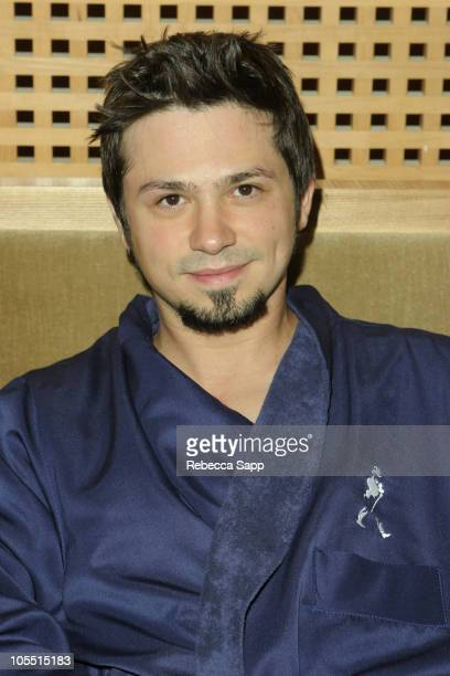 Freddy Rodriguez during Johnnie Walker Blue Label Gentleman's Suite for Emmys 2005 Day 2 at Raffles L'Ermitage Hotel in Beverly Hills California...