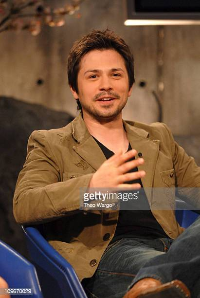 Freddy Rodriguez during Maroon 5 Freddy Rodriguez Vanessa Ferlito and Chevelle Visit FUSE's The Sauce April 3 2007 at Fuse Studios in New York New...