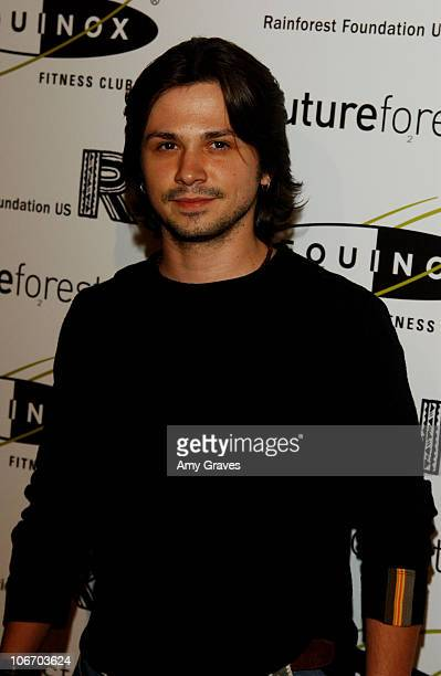 Freddy Rodriguez during Opening of the 1st Los Angeles Equinox Fitness Club to Benefit the Rainforest Foundation and Futureforests at Equinox Fitness...
