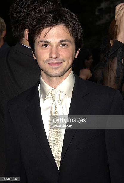 Freddy Rodriguez during The 2002 ALMA Awards Arrivals at The Shrine Auditorium in Los Angeles California United States