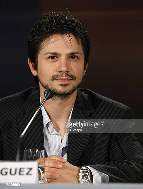 Freddy Rodriguez during The 63rd International Venice Film Festival Bobby Press Conference at Palazzo del Casino in Venice Lido Italy