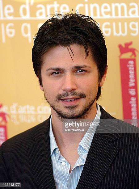 Freddy Rodriguez during The 63rd International Venice Film Festival 'Bobby' Photocall at Palazzo del Casino in Lido Italy