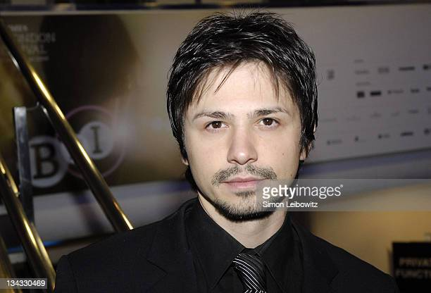 Freddy Rodriguez during The Times BFI London Film Festival Bobby Gala Screening Inside at Odeon West End in London Great Britain