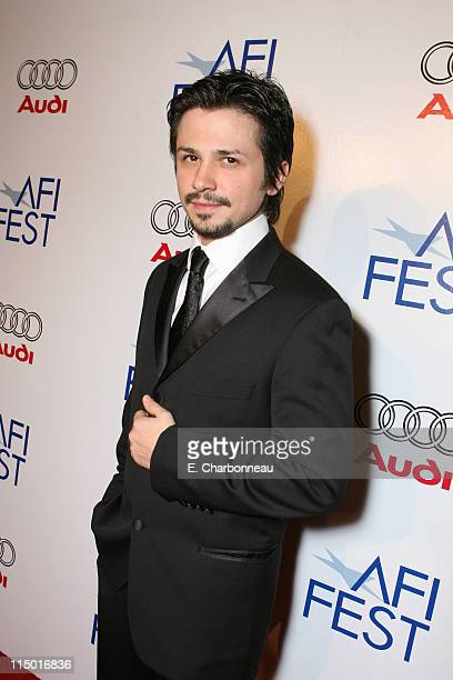 Freddy Rodriguez during The Weinstein Company Hosts Black Tie Opening Night Gala and US Premiere of Emilio Estevez's Bobby at Grauman's Chinese...